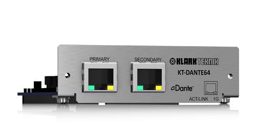 KT Dante64 | Audio | Klarkteknik | DI Box | PRO LAB
