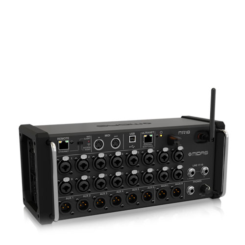MR18   Audio   Midas   PRO LAB