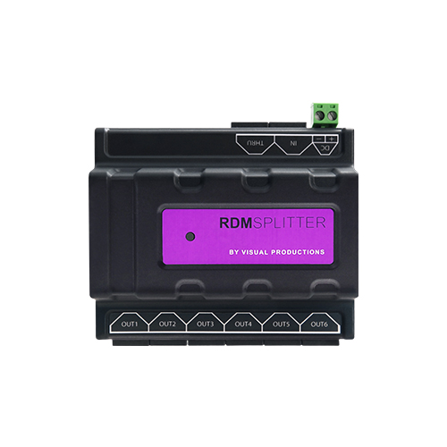 RDM Splitter | Lighting and Control | Visual Productions | PRO LAB