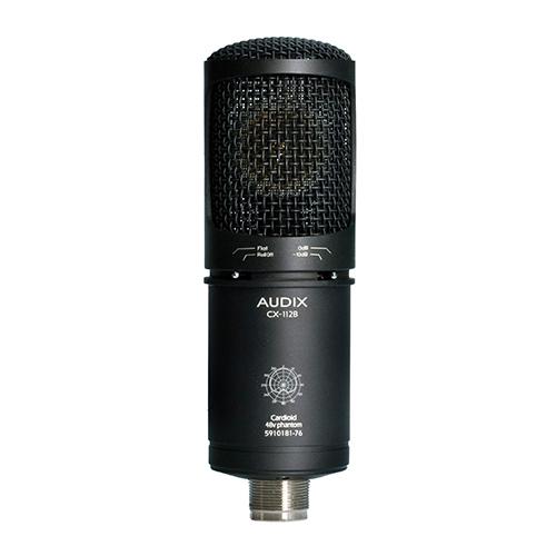 CX112b | Audio | Audix | Studio Condenser Microphones | PRO LAB