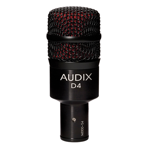 D4 | Audio | Audix | Dynamic Instruments Microphones | PRO LAB