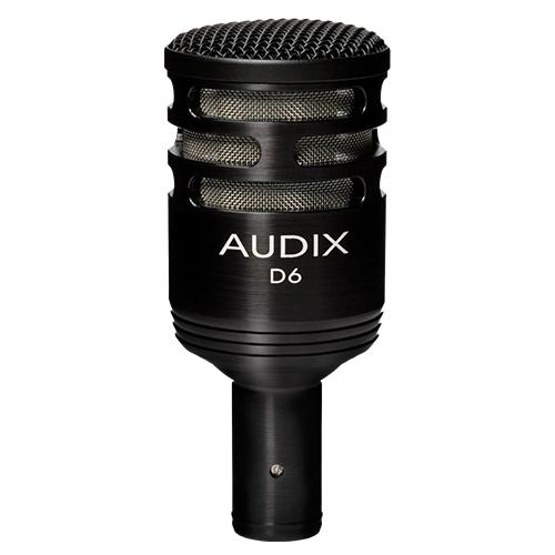 D6 | Audio | Audix | Dynamic Instruments Microphones | PRO LAB