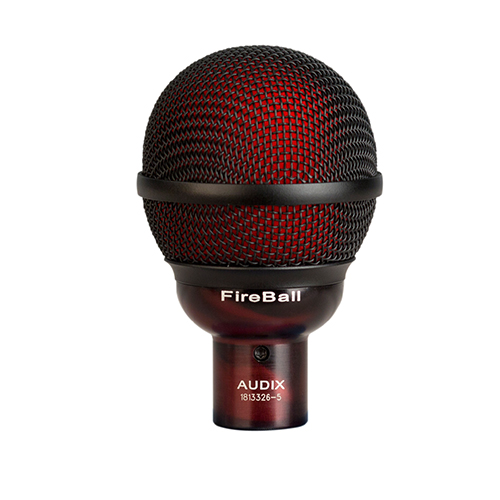 Fireball | Audio | Audix | Dynamic Instruments Microphones | PRO LAB