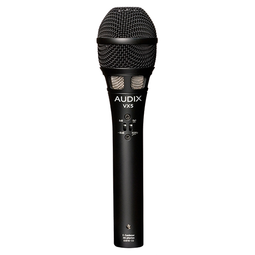 VX5 | Audio | Audix | Condenser Vocal Microphones | PRO LAB