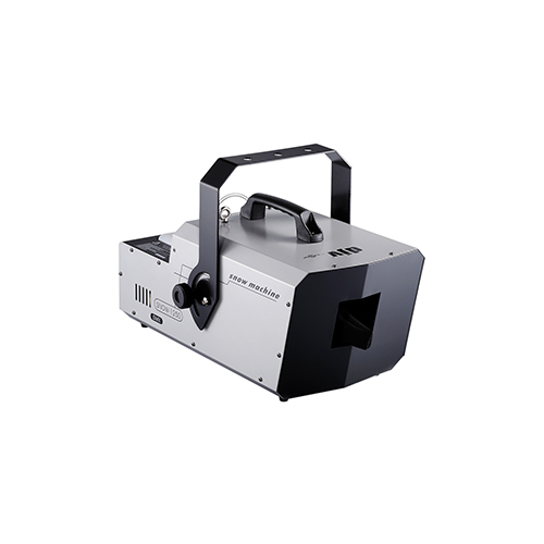 DJPower Snow 1250 Snow Machine high output snow machine with user-friendly volume adjustment