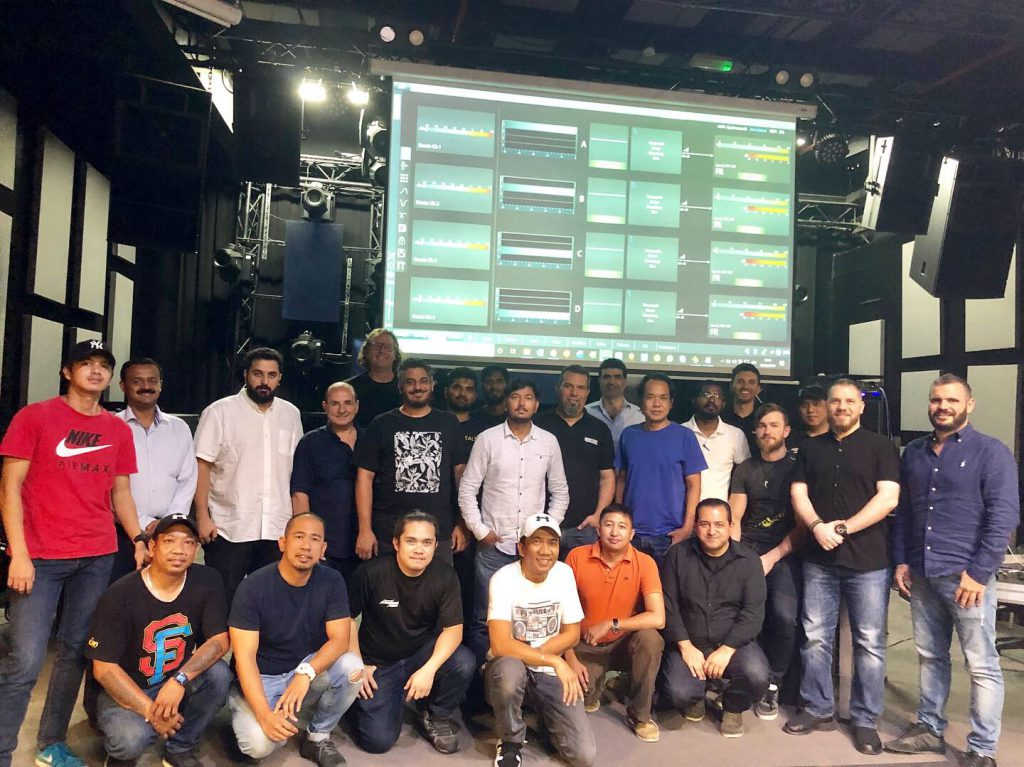 PRO LAB hosts Powersoft fixed install training in Dubai_thumbnail