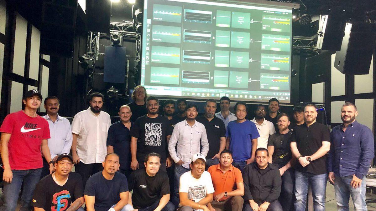 PRO LAB hosts Powersoft fixed install training in Dubai_thumbnail
