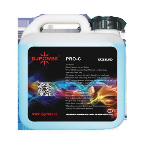 Professional high-density haze fluid
