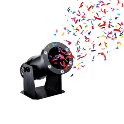 Dj Power R-4 Mini LED Confetti Blower