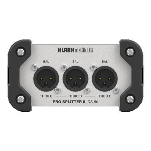 Ds 50 Pro SPlitter 5 | Audio | Klarkteknik | DI Box | PRO LAB