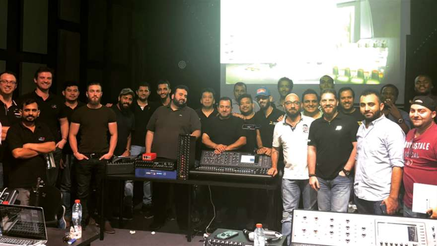 PRO LAB recently held a variety of training sessions throughout the last two months for five of its exclusive brands – ChamSys, Midas, Turbosound, Movecat and Dataton.